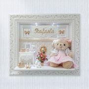 Porta Maternidade Ursa Penteadeira