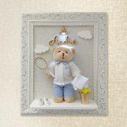 Porta Maternidade Urso Tenista