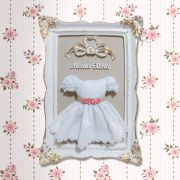 Porta Maternidade Vestido Moldura Provençal