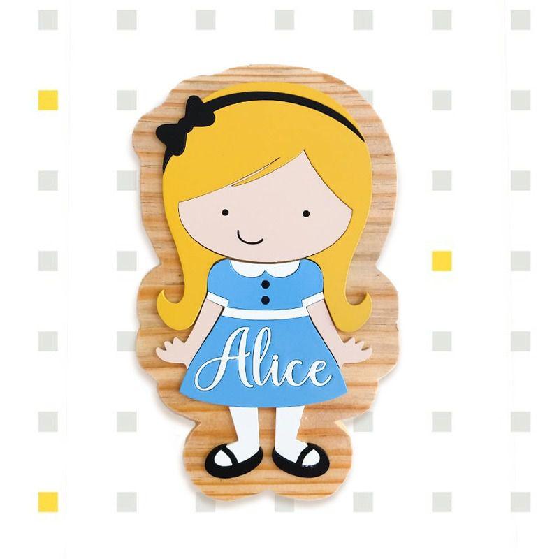Placa Natural Pinus Alice