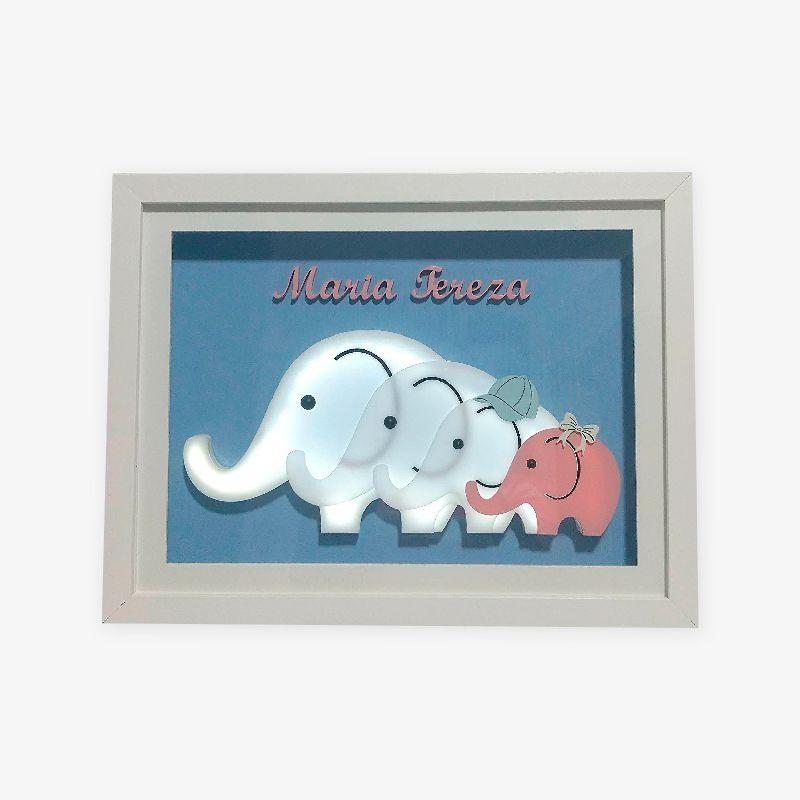 Porta Maternidade Família Elefante