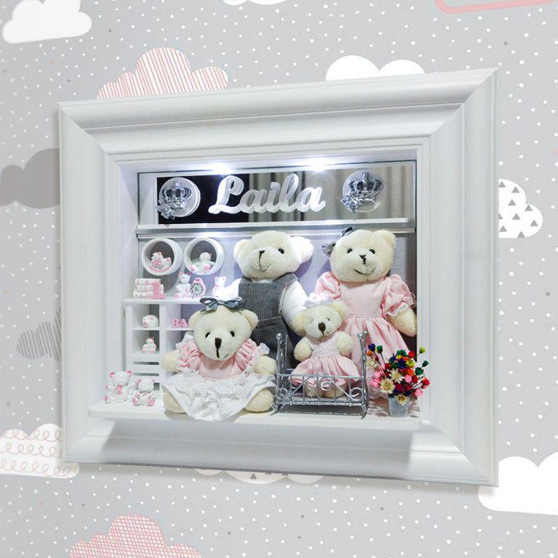 Porta Maternidade Família Urso