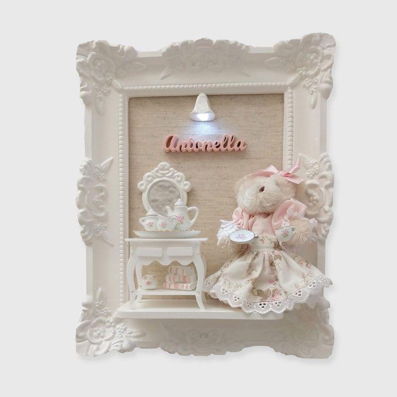 Porta Maternidade Ursa Chá