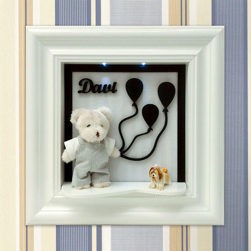Porta Maternidade Ursinho balão