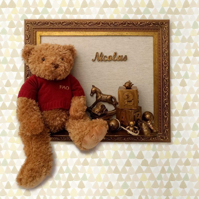 Porta Maternidade Urso Brinquedos