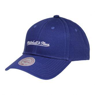 Boné Mitchell & Ness Aba Curva ST Brand Logo Colors Azul