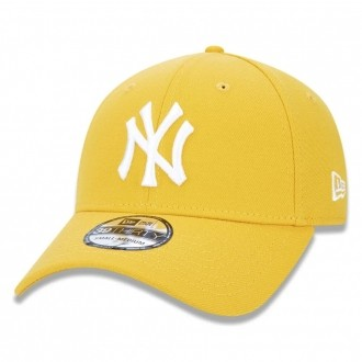 Boné New Era Aba Curva 3930 MLB NY Yankees Colors Amarelo