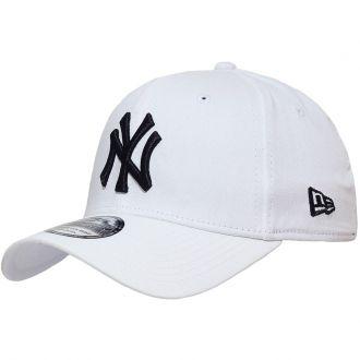 Boné New Era Aba Curva 3930 MLB NY Yankees Colors Branco