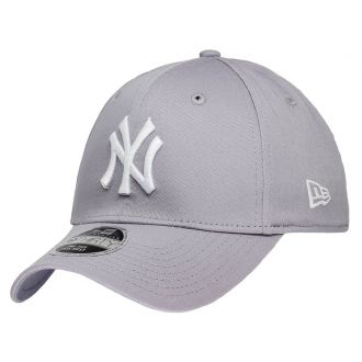 Boné New Era Aba Curva 3930 MLB NY Yankees Colors Cinza