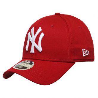 Boné New Era Aba Curva 3930 MLB NY Yankees Colors Vermelho