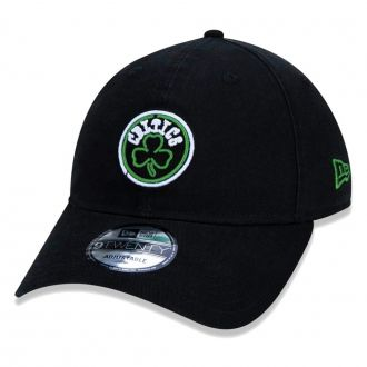 Boné New Era Aba Curva 920 ST NBA Celtics Outline Neon