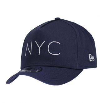 Boné New Era Aba Curva 940 SN Brand AF NYC Azul Escuro