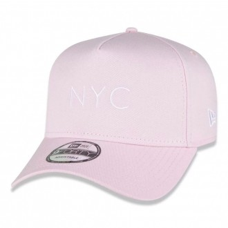 Boné New Era Aba Curva 940 SN Brand AF NYC Candys Rosa