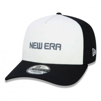 Boné New Era Aba Curva 940 SN Brand AF Reborn Preto