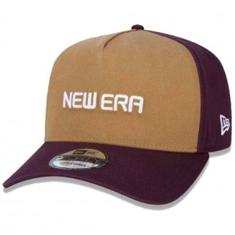 Boné New Era Aba Curva 940 SN Brand AF Reborn Vinho