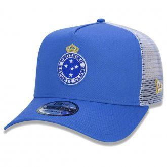 Boné New Era Aba Curva 940 SN Futebol Cruzeiro AF Trucker