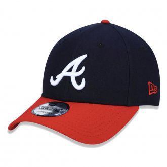 Boné New Era Aba Curva 940 SN MLB Atlanta Team Color