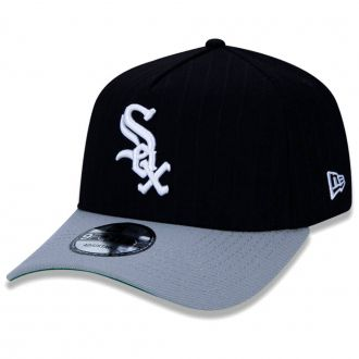 Boné New Era Aba Curva 940 SN MLB Chicago Sox AF Stripes