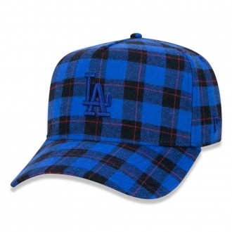 Boné New Era Aba Curva 940 SN MLB Los Angeles AF All Plaid