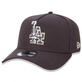 Boné New Era Aba Curva 940 SN MLB Los Angeles Earth Camo