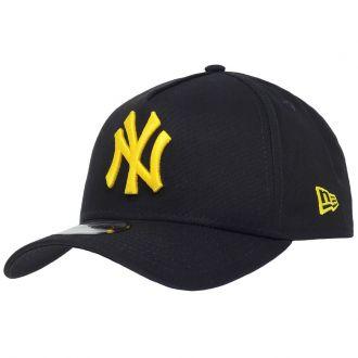 Boné New Era Aba Curva 940 SN MLB NY Yankees AF Bicolors Preto