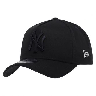 Boné New Era Aba Curva 940 SN MLB NY Yankees AF Blackout