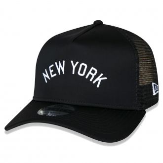 Boné New Era Aba Curva 940 SN MLB NY Yankees AF Trucker Desert Camo
