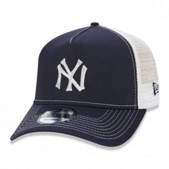 Boné New Era Aba Curva 940 SN MLB NY Yankees AF Trucker Vintage