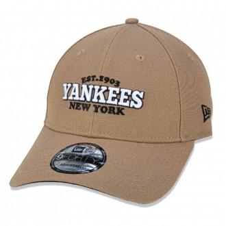 Boné New Era Aba Curva 940 SN MLB NY Yankees College 1903