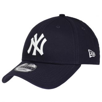 Boné New Era Aba Curva 940 SN MLB NY Yankees Colors Azul Escuro Low