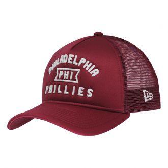 Boné New Era Aba Curva 940 SN MLB Phillies Trucker Script