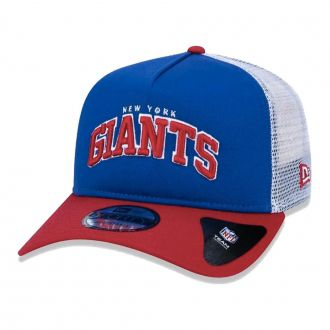 Boné New Era Aba Curva 940 SN NFL Giants Trucker Art