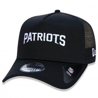 Boné New Era Aba Curva 940 SN NFL Patriots AF Trucker Desert Camo
