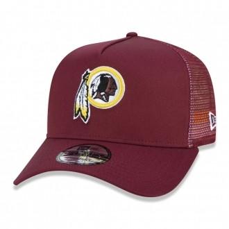 Boné New Era Aba Curva 940 SN NFL Redskins AF Trucker Taping