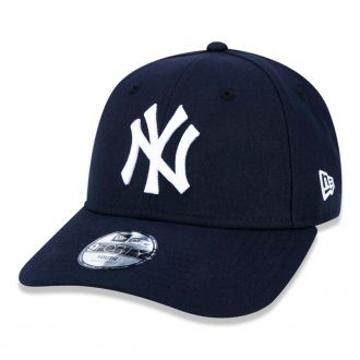 Boné New Era Aba Curva 940 ST MLB NY Yankees Colors Infantil Azul