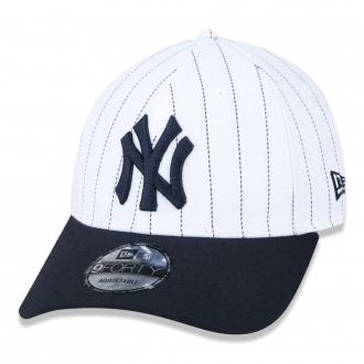 Boné New Era Aba Curva 940 ST MLB NY Yankees Pinstripe
