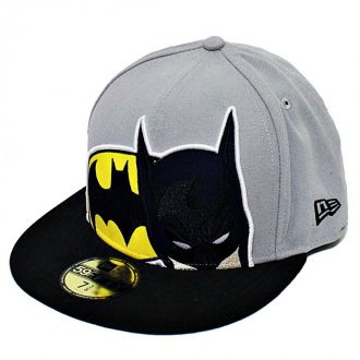 Boné New Era Aba Reta 5950 Batman HCL