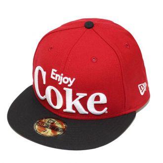 Boné New Era Aba Reta 5950 Coca-Cola Enjoy Coke