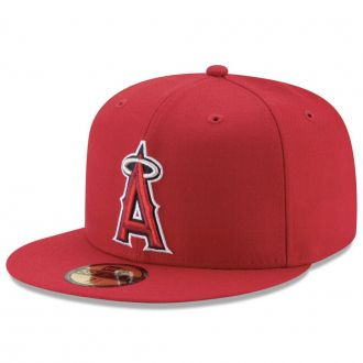 Boné New Era Aba Reta 5950 MLB Angels On Field Game