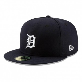 Boné New Era Aba Reta 5950 MLB Detroit Game Cap