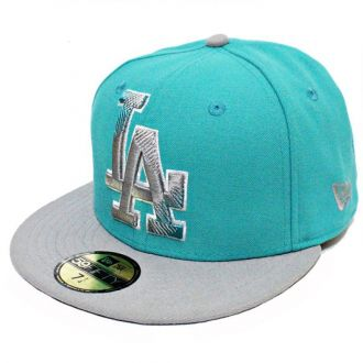 Boné New Era Aba Reta 5950 MLB Los Angeles Edge Verde