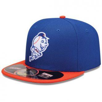 Boné New Era Aba Reta 5950 MLB NY Mets Diamond Era