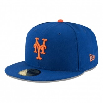 Boné New Era Aba Reta 5950 MLB NY Mets Game Cap