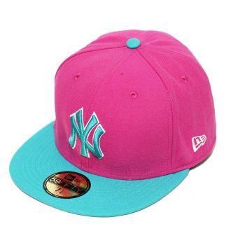 Boné New Era Aba Reta 5950 MLB NY Yankees Broot Tea
