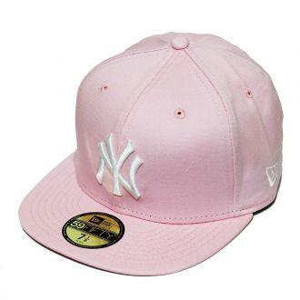 Boné New Era Aba Reta 5950 MLB NY Yankees Tint Fashion Rosa