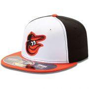 Boné New Era Aba Reta 5950 MLB Orioles On Field Game
