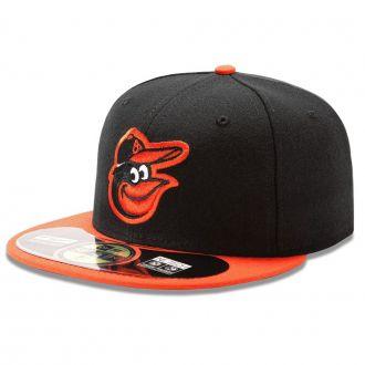 Boné New Era Aba Reta 5950 MLB Orioles On Field Road