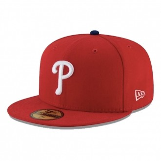 Boné New Era Aba Reta 5950 MLB Phillies Game Cap