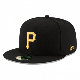 Boné New Era Aba Reta 5950 MLB Pirates Game Cap