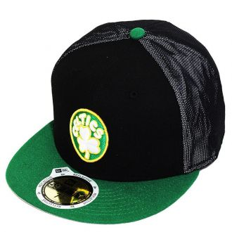 Boné New Era Aba Reta 5950 NBA Celtics Mesh Out